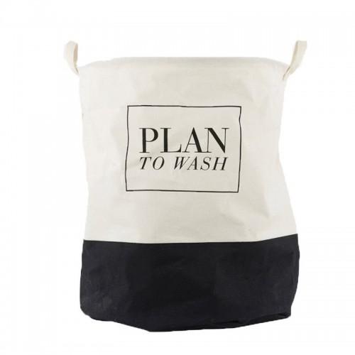 "Bolsa ropa sucia, ""Plan to wash"""