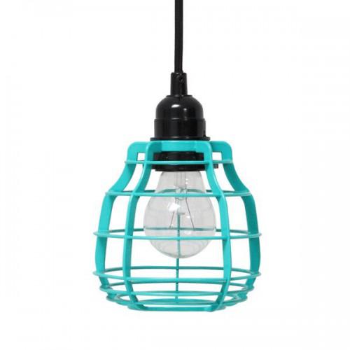 Lámpara Lab, verde turquesa