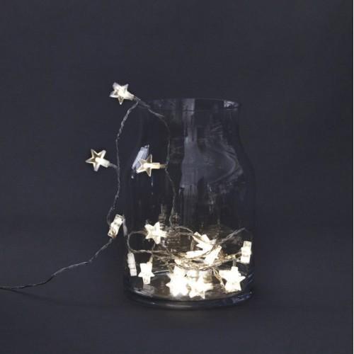 Guirnalda luces, estrellas