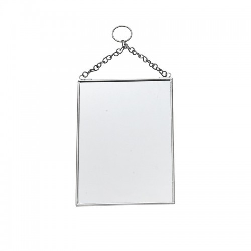 Espejo rectangular, silver