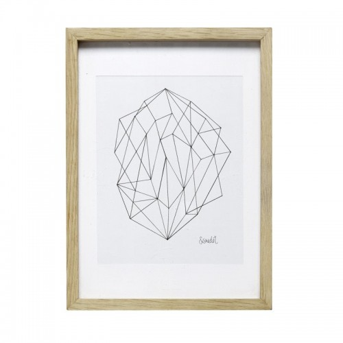 Cuadro madera, Geometric