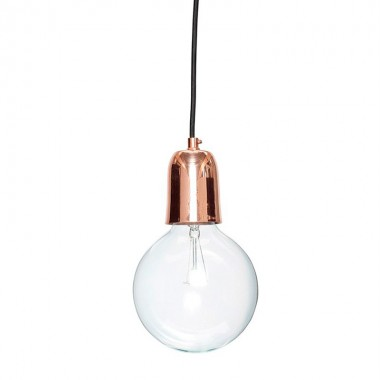 Lámpara de techo Slim, cobre