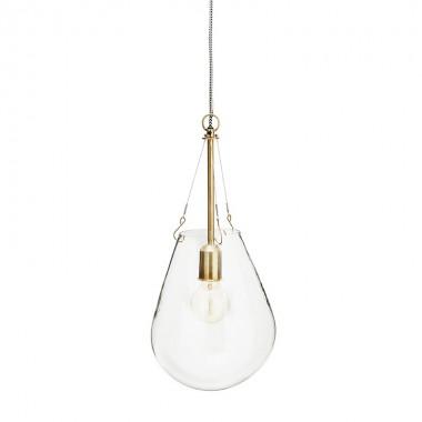 Lámpara Dione M, bronce