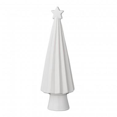 Árbol de navidad, blanco porcelana