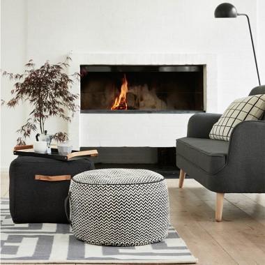 Puf Loen, black&white