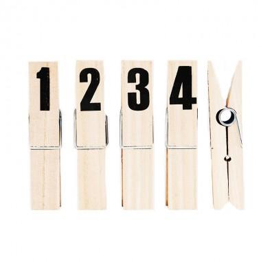 Set clip, Number