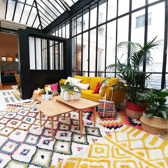 Alfombra bereber un nuevo b sico en la decoraci n del hogar - La redoute alfombras ...