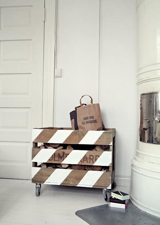 Ideas pr cticas para decorar con cajas de madera for Como pintar una caja de madera y decorarla