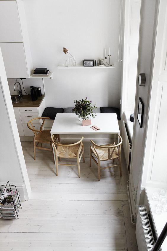 Ideas para crear peque os encantadores comedores decoraci n miv interiores - Miv interiores ...