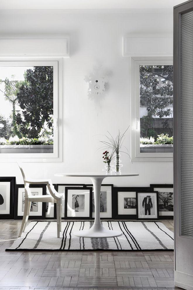 La original tendencia de decorar con cuadros el suelo - Decoracion de cuadros ...