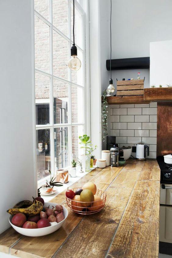 8 materiales para la encimera de la cocina for Encimera imitacion marmol
