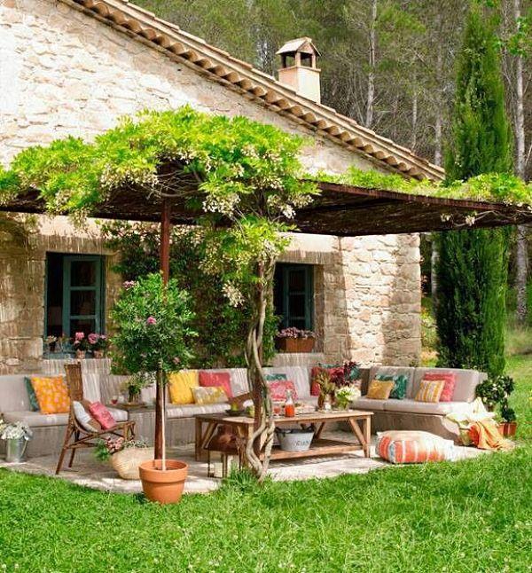 Jardines alegres inspiraci n e ideas para decorar tu jard n for Decoracion exterior jardin