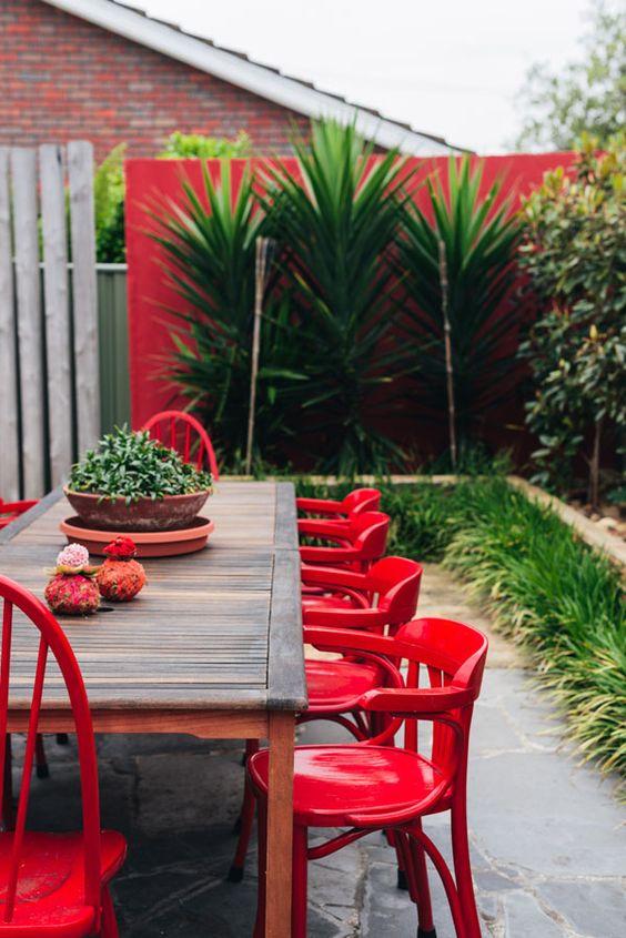 Jardines alegres inspiraci n e ideas para decorar tu jard n - Bar a rideaux ...