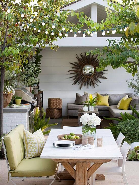 Jardines alegres inspiraci n e ideas para decorar tu jard n for Jardin 7 colores