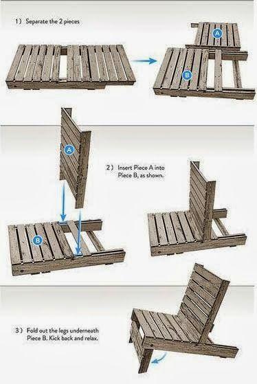 Muebles de exterior low cost con pallets para la terraza for Mobiliario para exteriores