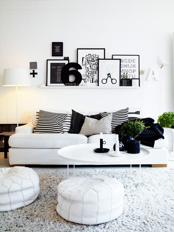 Ideas para decorar la pared encima del sofá