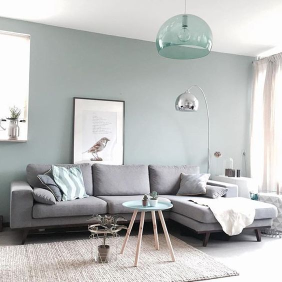 Ideas para decorar la pared encima del sof for Color de sofa para pared gris
