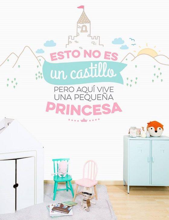 Paredes con mucha magia para habitaciones infantiles - Habitaciones con papel pintado y pintura ...