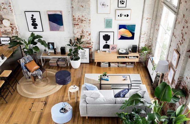 Un antiguo almac n convertido en un incre ble apartamento tipo loft - Apartamento tipo loft ...