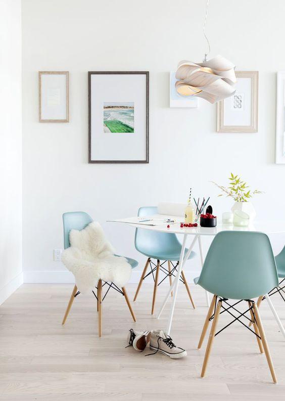 Dime qu mesa redonda tienes y te dir qu mix de sillas - Sillas para dormitorio moderno ...