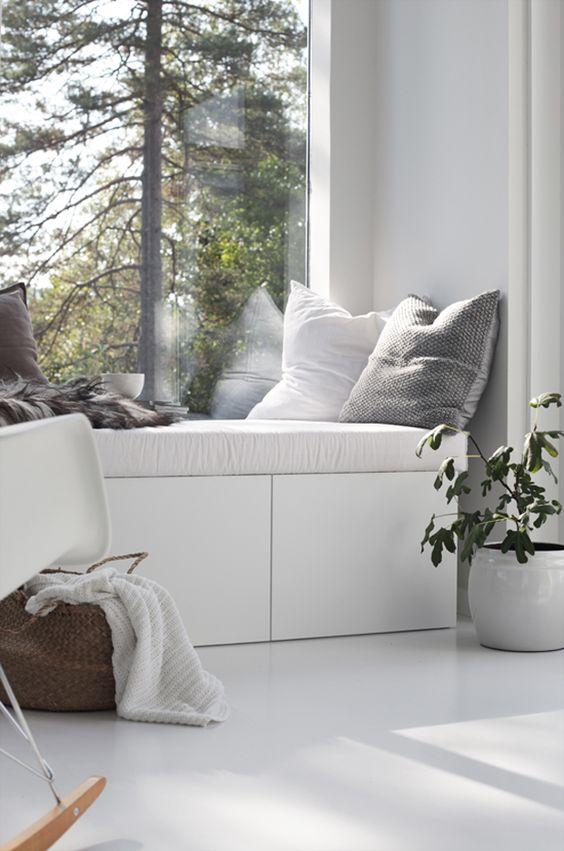 inspiraci n para crear tu rinc n de lectura en casa. Black Bedroom Furniture Sets. Home Design Ideas