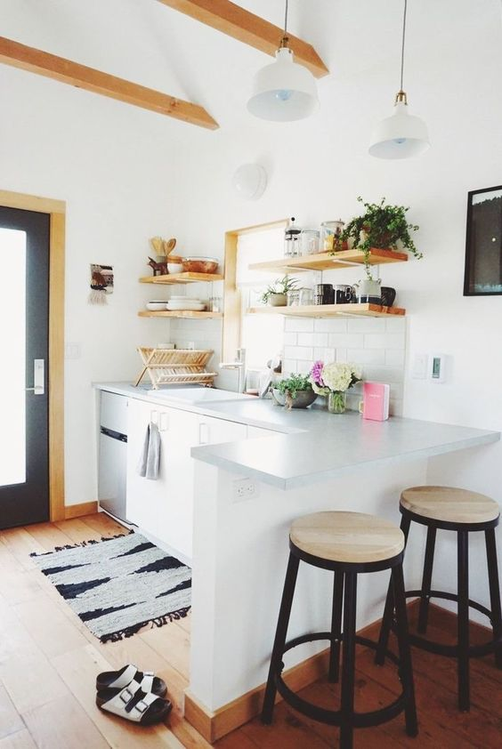 Taburetes altos para la cocina c mo elegir los adecuados - Taburetes para barra de cocina ...