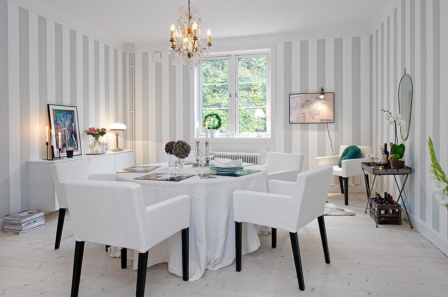8 consejos para decorar estancias con techos bajos - Poner chimenea en un piso ...