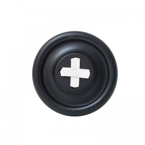 Perchero Button Negro