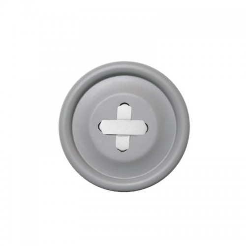 Perchero Button Gris