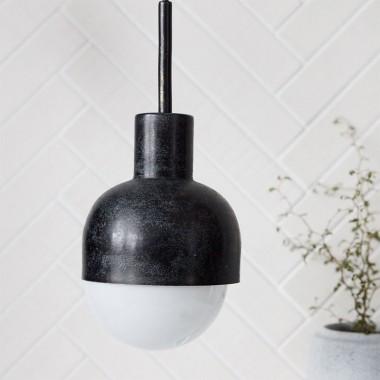 Lámpara Glow, negro oxidado