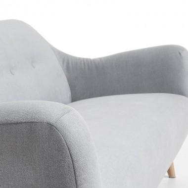 Sofá Opal, gris claro