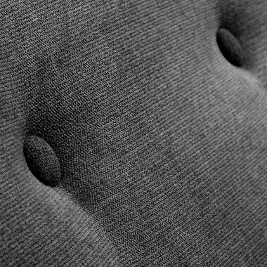Sofá Opal, gris oscuro