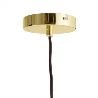 Lámpara Tier round, gold