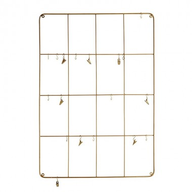 Organizador pared Clips, 56x80cm