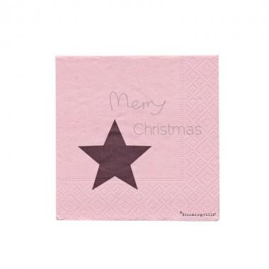 """Pack servilletas """"Merry Christmas"""""""