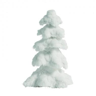 Adorno árbol navidade blanco