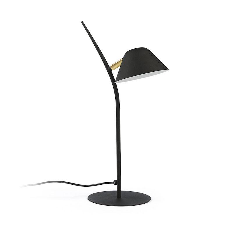 Lámpara de sobremesa Myst, negro