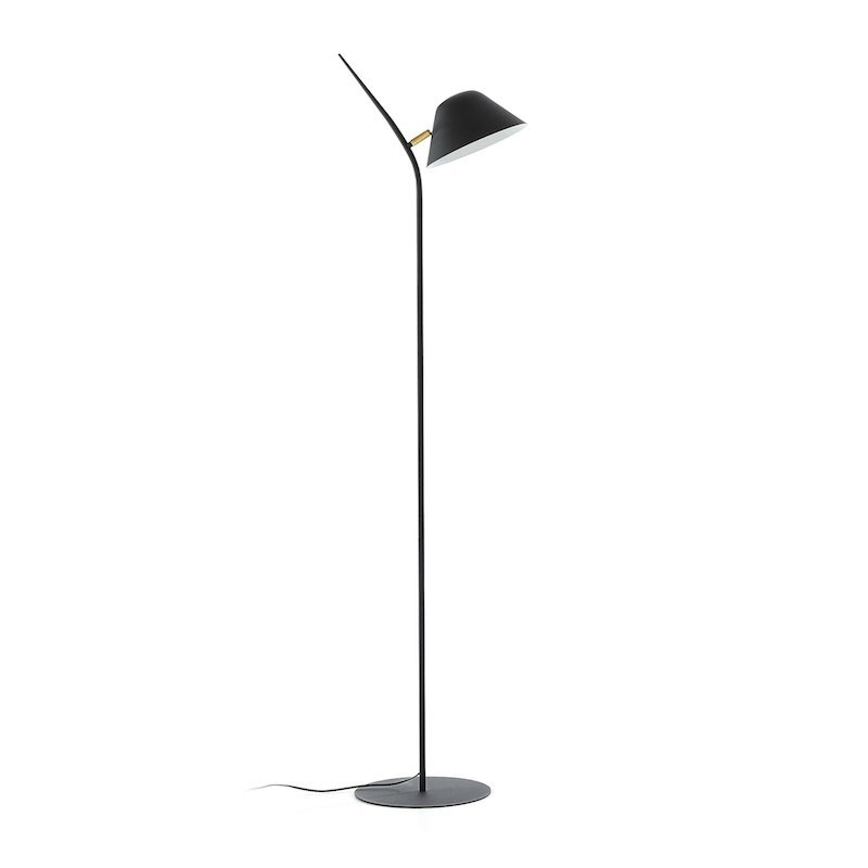 Lámpara de pie Myst, negro