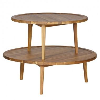 Mesa auxiliar Spot madera, M