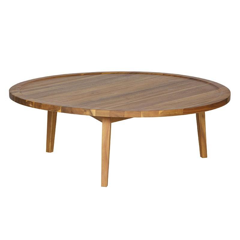 Mesa auxiliar Spot madera, L