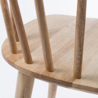 Silla Dax, madera