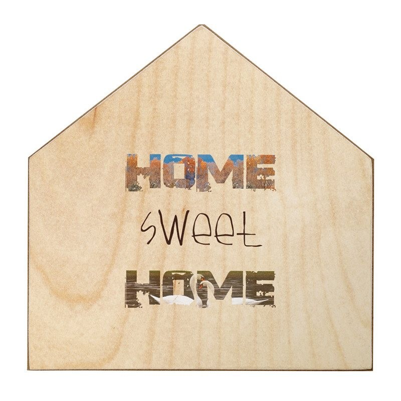 "Panel decorativo ""home sweet home"""