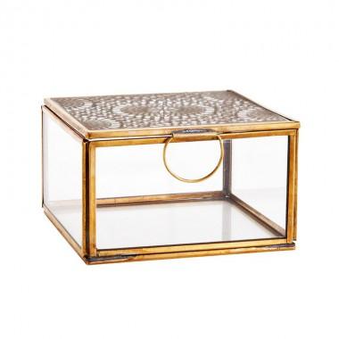 Caja Mandala M, bronce