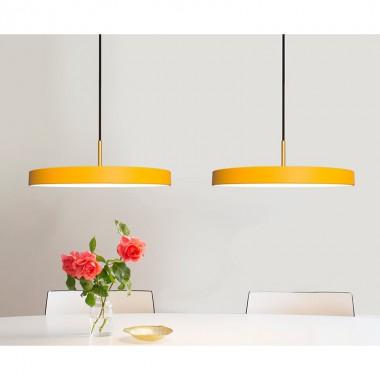 Lámpara Asteria, amarillo