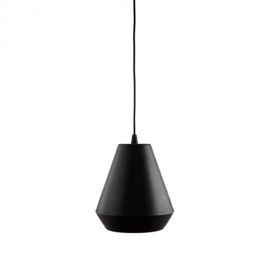 Lámpara Hood, negro