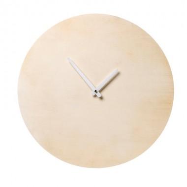 Reloj Wood, natural