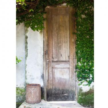 Mortero decorativo antiguo