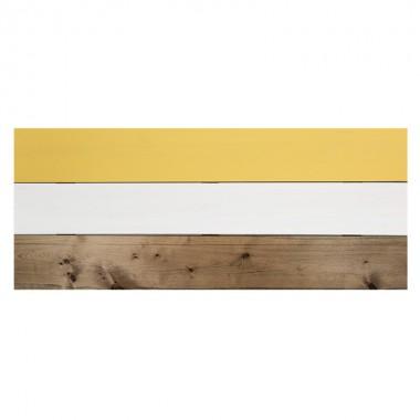 Cabecero Wood, mostaza