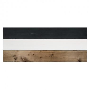 Cabecero Wood, negro