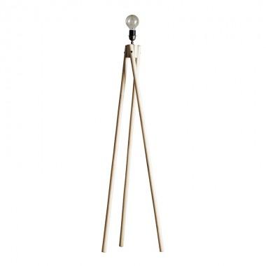 Trípode de pie Dana, bambú